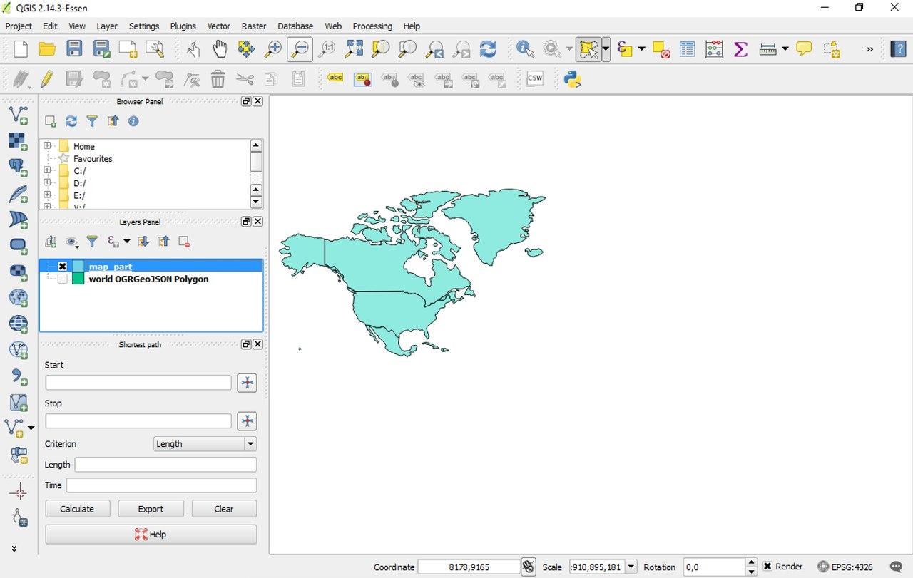Custom GeoJson Maps | Maps | AnyChart Documentation
