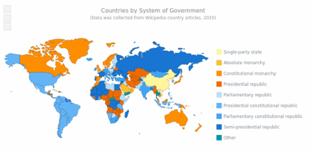 World Governments Map Choropleth Maps AnyMap Gallery AnyChart - Aland islands world map