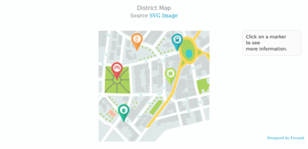 District Map | Seat Maps | AnyMap Gallery | AnyChart