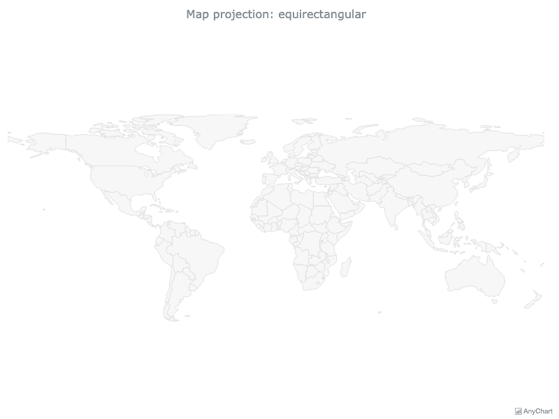 Projections Overview | Maps Projections | AnyMap Gallery | AnyChart